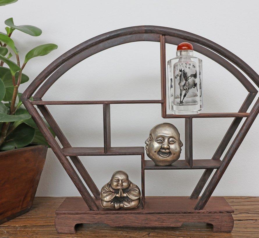 Curio Regal Holzregal Deko Regal 28cm