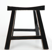 Yajutang Stool wooden stool black