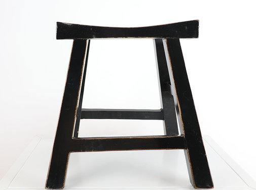 Yajutang Stool wooden stool black