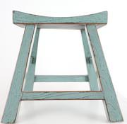 Yajutang Sitzhocker Holzhocker grau