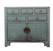 Yajutang china cabinet gray