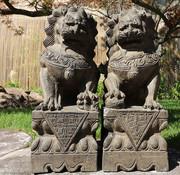 Yajutang Fu dogs Guardian lions Temple lion