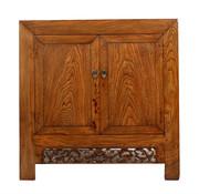 Yajutang Antique chest of 2 doors brown