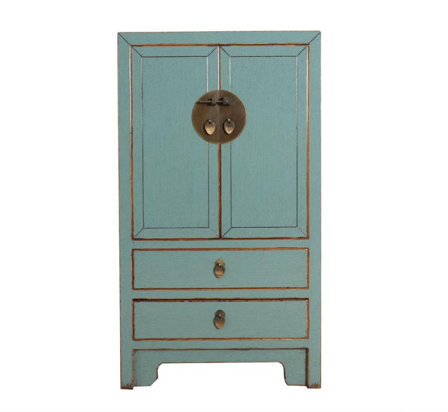 Chinese dresser 28 cm Deep Oriental / Asian style grey