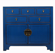 Yajutang china cabinet blue