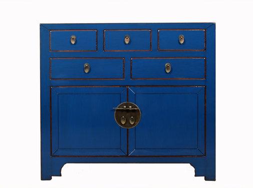 Yajutang china cabinet blue