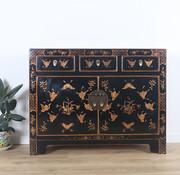 Yajutang Sideboard 3 drawers 2 doors painted