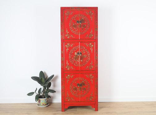 Yajutang chinesischer Hochzeitsschrank 6 Türen