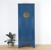 Yajutang Wedding Cabinet 2 Doors 1 drawers blue