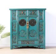 Yajutang china cabinet turquoise