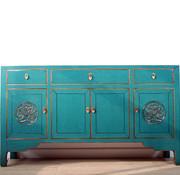 Yajutang Chinese  sideboard turquoise