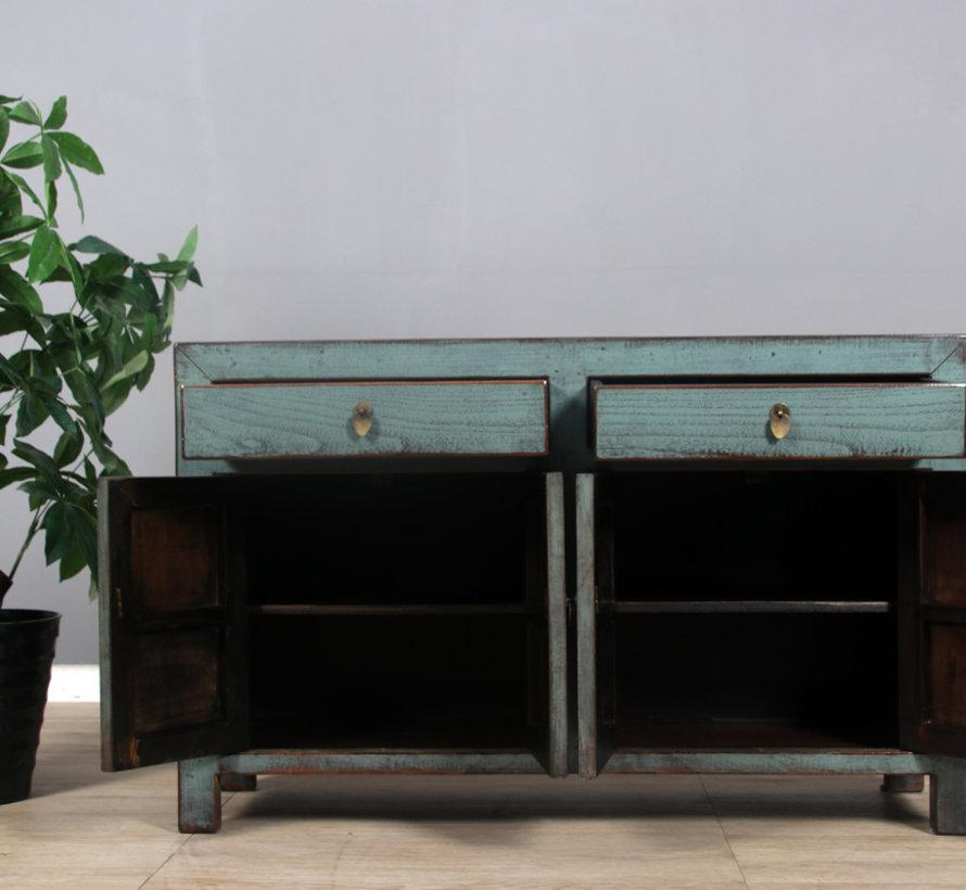 Sideboard 4 doors 2  drawers long storage cabinet usedmint