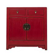 Yajutang Chest of drawers 2 doors red