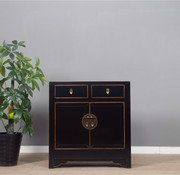 Yajutang Chinese dresser double doors black