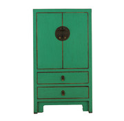 Yajutang Chinese chest of drawers Asian green