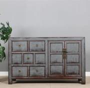 Yajutang Sideboard 2 doors 5 drawers used gray