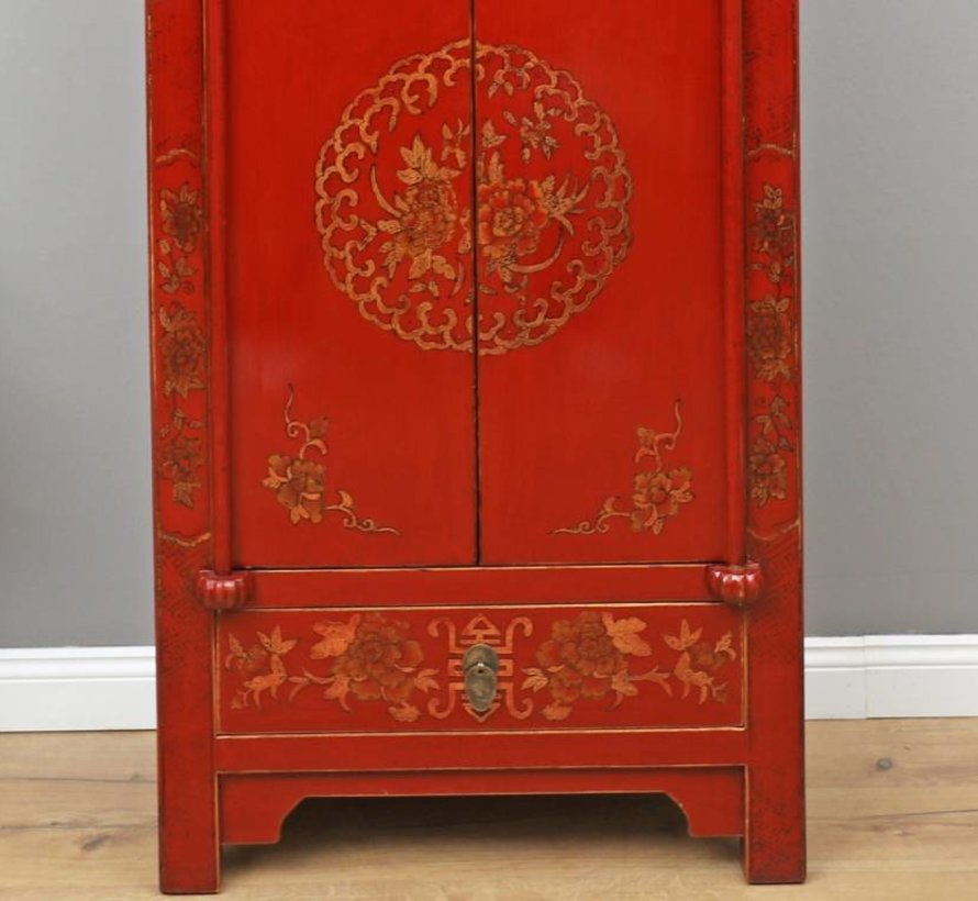 Wedding cupboard 2 doors 1 drawer painted