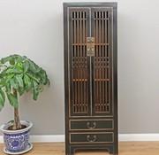 Yajutang Kitchen sinker living room cabinet black