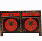 Yajutang Chinese sideboard with hand painting
