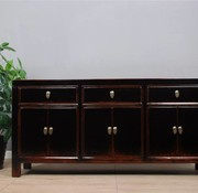 Yajutang Sideboard 6 doors 3 drawers black