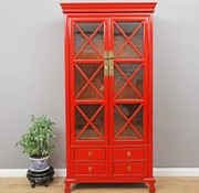 Yajutang Showcase 2 doors 4 drawers