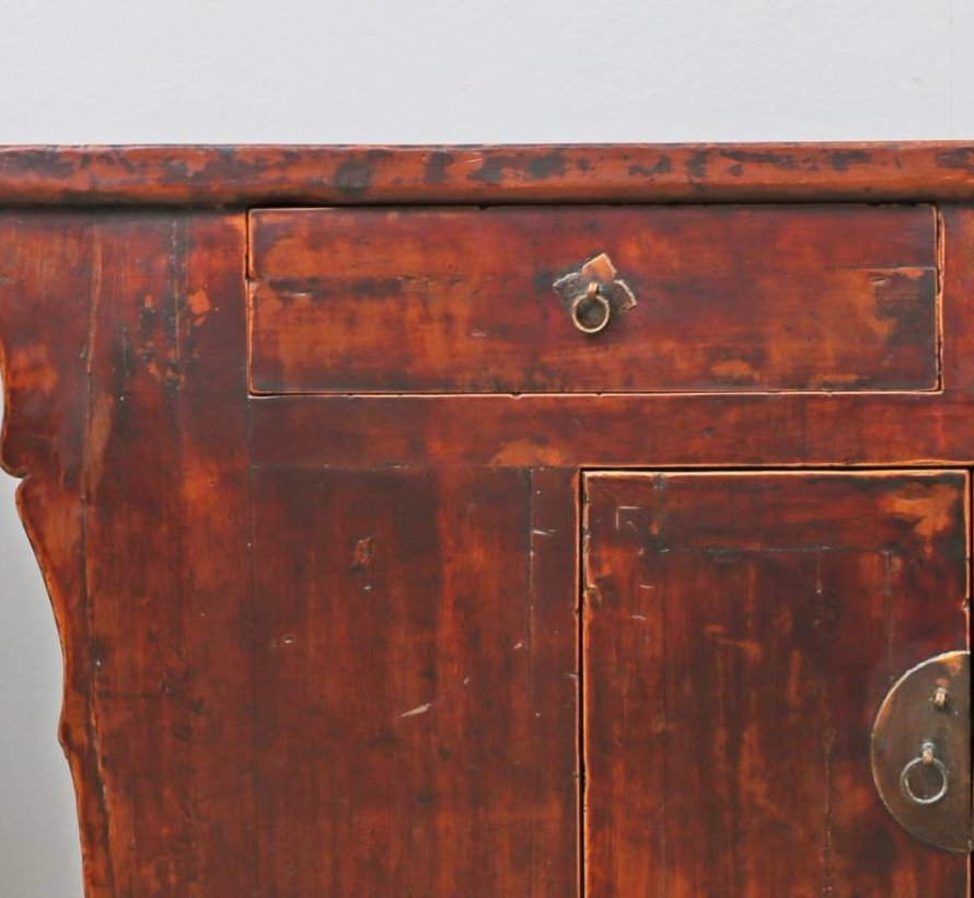 Antique sideboard TV table dresser 2 doors and 2 drawers
