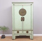 Yajutang Chinese Wedding Cabinet 2 Doors 2  Drawers mint