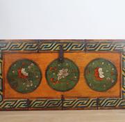 Yajutang Tibetan chest with floral motif