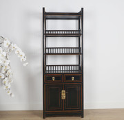 Yajutang Chinese shelf black