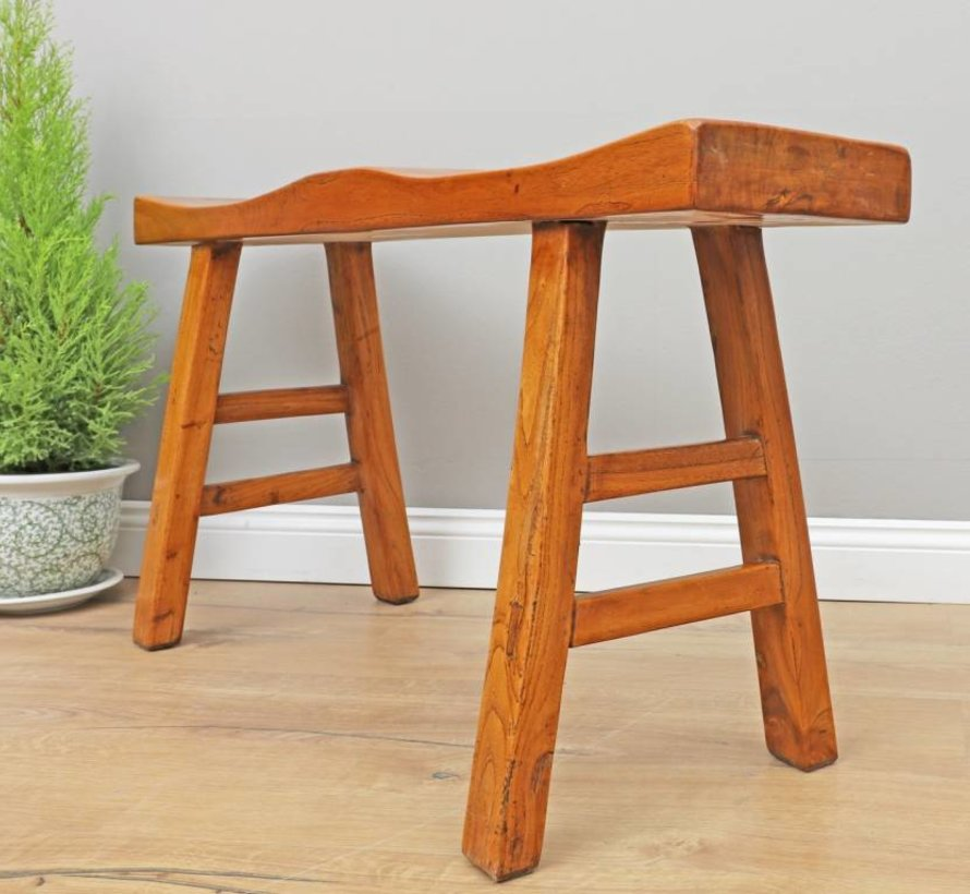 Stool wooden stool solid wood
