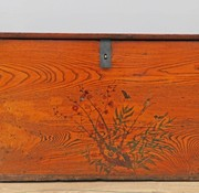 Yajutang Antique Chinese chest flowers