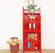 Yajutang Chinese shelf red