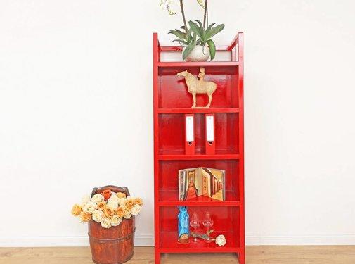 Yajutang Chinese shelf red