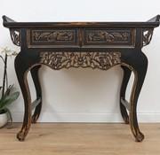 Yajutang Chinese dresser table sideboard Carving