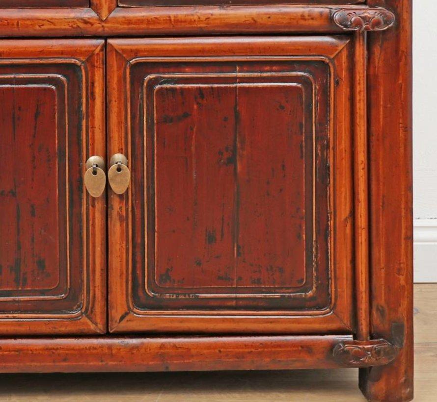 Antike chinesische Kommode in original Farbe