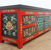 Yajutang Sideboard, Tibetan style, handmade