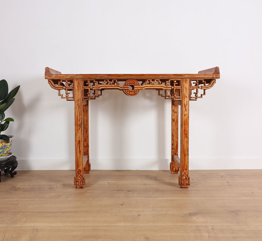 Chinese table solid wood china side table tea table