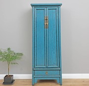 Yajutang Chinese wedding cupboard  blue