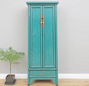 Yajutang Chinese wedding cupboard  turquoise