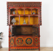 Yajutang Antique altar cabinet from Tibet