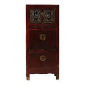 Yajutang Antique wedding cabinet 6 doors brown