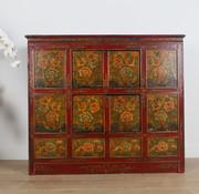 Yajutang Tibetan dresser with floral motif