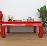 Yajutang Tisch Couchtisch Sofatisch Opium rot