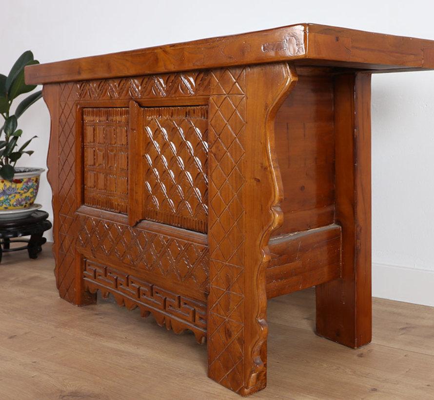 Antike dresser sideboard 2 doors brown