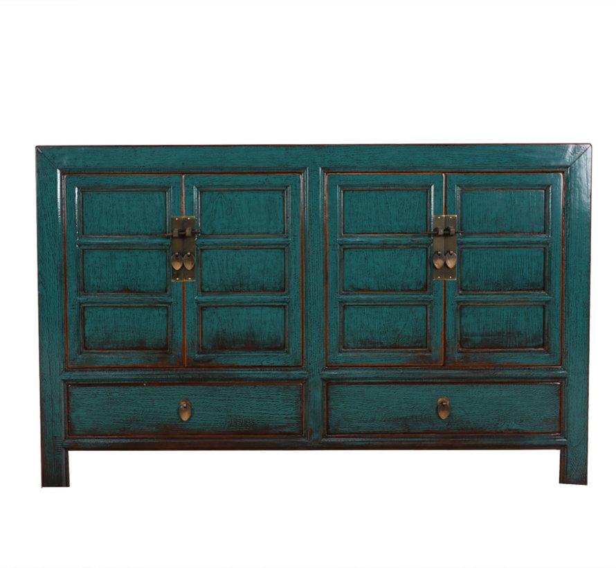 Antike Kommode Sideboard 4 Türen 2 Schubladen