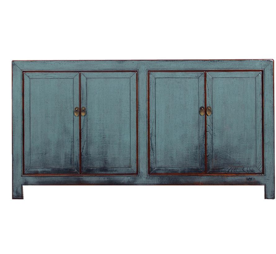 Antikes  Sideboard mit zwei Doppeltüren grau