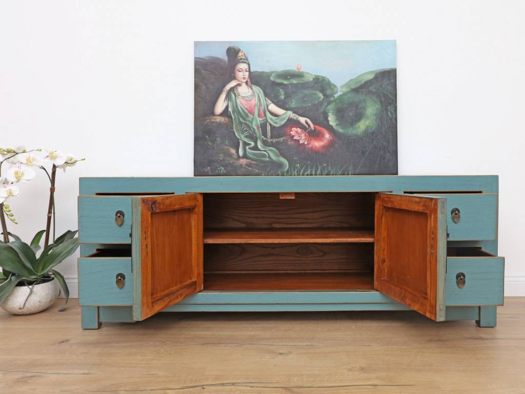- Chinese Sideboard Solid Wood TV Table - Yajutang Möbel GmbH