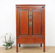 Yajutang Antique wedding cabinet with 5 drawers