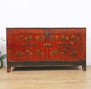 Yajutang Antikes  handbemalte floral Sideboard