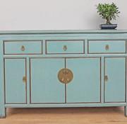Yajutang Chinese sideboard dresser 4 Türen grey